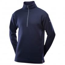 Devold - Blaatröie Sweater Zip Neck - Merinopullover