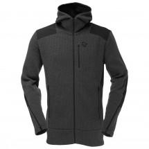 Norrøna - Tamok Warm/Wool2 Zip Hood - Wollen jack
