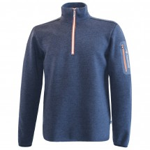 Ivanhoe of Sweden - Assar Half Zip - Pull-over en laine méri