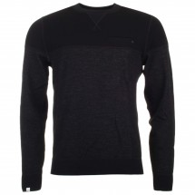 We Norwegians - Base Two Colorblock Crew Neck - Merino jumper