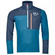Ortovox - Fleece Light Zip Neck - Merino sweatere