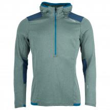 Ortovox - Fleece Light Grid Zip Neck Hoody - Fleecesweatere