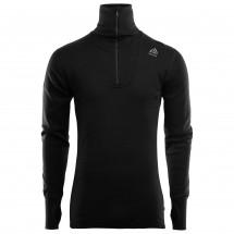 Aclima - Doublewool Polo Shirt Zip - Överdragströjor merinoull