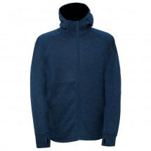 2117 of Sweden - Flatfleece Jacket With Hood Mossen - Forro polar