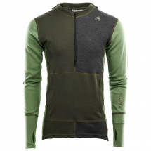 Aclima - Warmwool Hood Sweater Zip - Överdragströjor merinoull