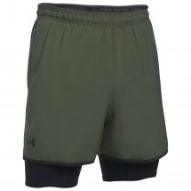 Under Armour - UA Qualifier 2-in-1-Short - Verryttelyhousut