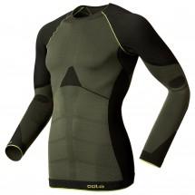 Odlo - Shirt L/S Crew Neck Evolution Warm Green - Longsleeve