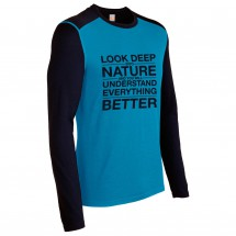 Icebreaker - Oasis LS Crewe Look Deep - Long-sleeve