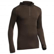 Icebreaker - Oasis LS Half Zip Hood Stripe - Long-sleeve