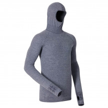 Odlo - Shirt L/S With Facemask Zeromiles - Manches longues