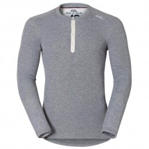 Odlo - Vallée Blanche Warm L/S Crew Neck Shirt - Leggings
