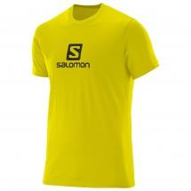 Salomon - T-S/S Logo Cotton Tee - T-paidat