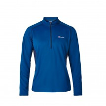 Berghaus - Tech Tee Base Zip - Synthetisch ondergoed