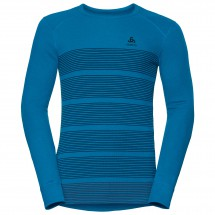 Odlo - Shirt L/S Crew Neck God Jul Print - Synthetisch ondergoed