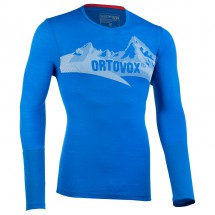 Ortovox - M 185 Long Sleeve Print - Funktionsshirt