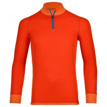 Ortovox - Merino Supersoft 210 Long Sleeve Zip Neck - Merinovilla-alusvaatteet