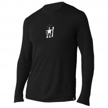 Smartwool - Long Sleeve Little Guy With Skis Slim Fit Tee