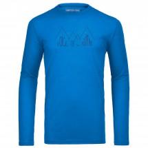 Ortovox - Merino 150 Ridge Print L/S - Sous-vêtements en lai