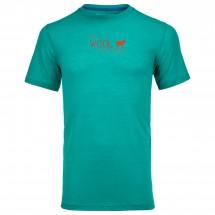 Ortovox - Merino 150 World Print S/S - Sous-vêtements en lai