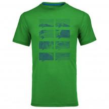 Ortovox - Merino 150 Mountain Print S/S - Merino ondergoed