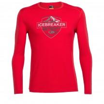 Icebreaker - Oasis L/S Crewe Alpine Crest