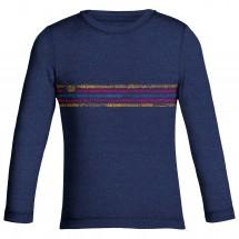Icebreaker - Oasis L/S Crewe Coronet Stripe