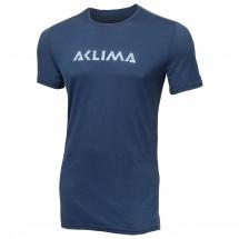 Aclima - LW T-Shirt Logo - Merinovilla-alusvaatteet