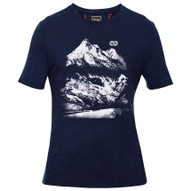 Rewoolution - Shadows Merino Graphic Tee S/S - Merinoundertøy
