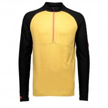 Mons Royale - Checklist 1/2 Zip Geo - Merino base layer