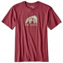 Patagonia - Eat Local Upstream Cotton T-Shirt - T-skjorte