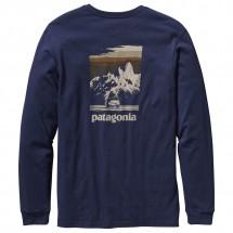 Patagonia - LS Fitz Roy Car T-Shirt - Longsleeve