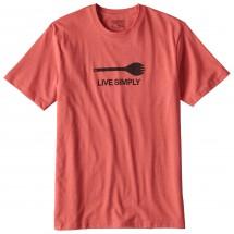 Patagonia - Live Simply Spork Cotton/Poly Responsibili-Tee - T-skjorte