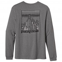 Patagonia - L/S Etched Mountain T-Shirt - Longsleeve