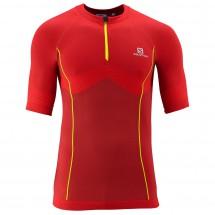 Salomon - Exomotion Zip Tee - T-shirt de running