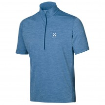 Haglöfs - Ridge SS Zip Tee - Polo shirt