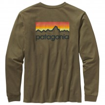 Patagonia - LS Line Logo T-Shirt - Longsleeve