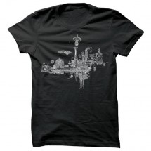 Spacecraft - Take Off Tee - T-Shirt