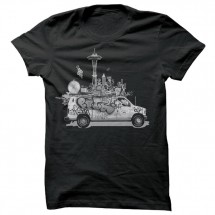 Spacecraft - Van Life Tee - T-Shirt