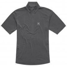 Haglöfs - Ridge II SS Zip Tee - Polo shirt
