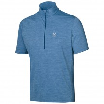 Haglöfs - Ridge II SS Zip Tee - Polo shirt
