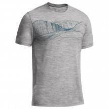 Icebreaker - Tech Lite SS Graphic - T-paidat