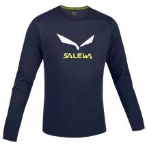 Salewa - Solidlogo CO LS Tee - Longsleeve