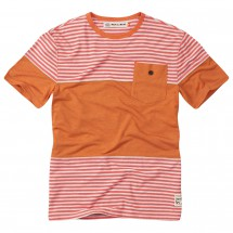 Moon Climbing - Striped Pocket Tee - T-paidat
