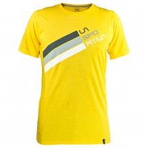 La Sportiva - Stripe Logo T-Shirt - T-paidat