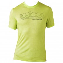 Smartwool - Graphic Tee - Slim Fit (Striped Logo) - T-shirt