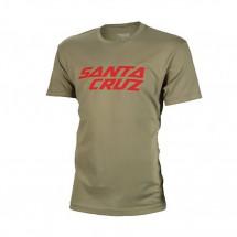 Santa Cruz - Stacked Logo Tee - T-shirt