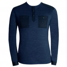 Alchemy Equipment - Single Jersey Merino L/S Henley