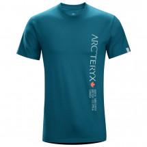 Arc'teryx - Vertical Word S/S Crew - T-shirt