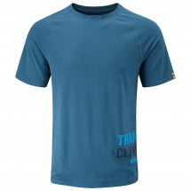 Moon Climbing - Train Hard Tech Tee - T-shirt