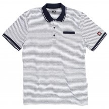 66 North - Setberg Stripe Polo Shirt - Polo-Shirt
